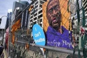 Rassismus: Fall George Floyd: Weitere Anklage gegen vier Ex-Polizisten