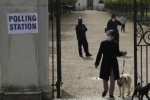 Wahlen: Briten warten auf Ausgang von Lokal- und Regionalwahlen