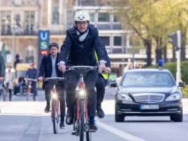 umweltfreundliche mobilität: scheuers radl-tour