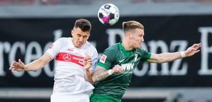 Bundesliga: FC Augsburg steigert sich, verliert aber auch beim VfB Stuttgart
