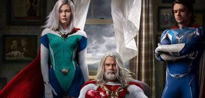 netflix-serie »jupiter's legacy« von mark millar: keeping up mit den superhelden
