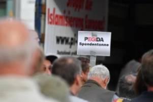 extremismus: verfassungsschutz sachsen: pegida extremistische bestrebung