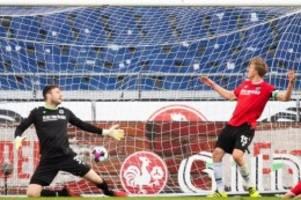 fußball: nächste pleite für hannover 96: 1:2 gegen darmstadt 98
