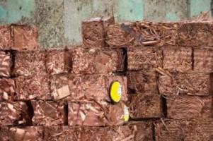 Rohstoffe: Kupferpreis steigt auf Rekordhoch