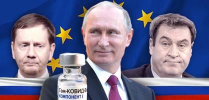 Jetzt zeigt sich, dass Europa Sputnik V nicht braucht