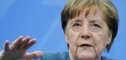 Merkel diskutiert mit Jugendlichen über die Folgen der Corona-Pandemie