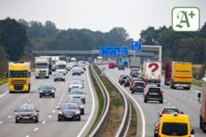 Niedersachsen: Autofahrer prügeln sich auf der A1 Richtung Hamburg