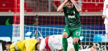 Jetzt droht Augsburg das Finale gegen den Abstieg