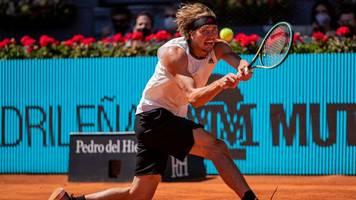 ATP-Turnier - Riesenüberraschung in Madrid: Zverev gewinnt gegen Nadal