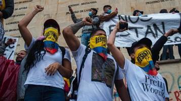 Kolumbien: Mehr als 370 Vermisste nach gewaltsamen Protesten