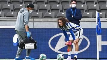 Hertha BSC: Saison-Aus für Guendouzi wegen Fußbruch