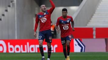 Ligue 1: Lille legt im Meisterkampf gegen Paris Saint-Germain vor