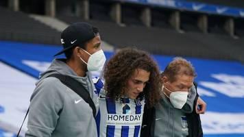 Saison für Herthas Guendouzi nach Mittelfußbruch beendet