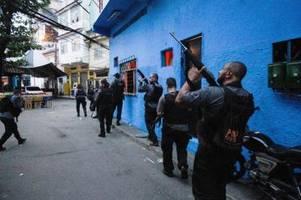 brasilien: mindestens 25 tote bei blutigem polizeieinsatz