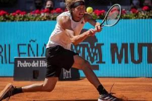 Riesenüberraschung in Madrid: Zverev gewinnt gegen Nadal