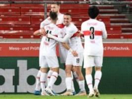 Bundesliga: VfB Stuttgart gewinnt 2:1 gegen FC Augsburg