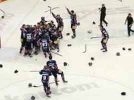 Eishockey-Finale: Eisbären wieder Rekordmeister