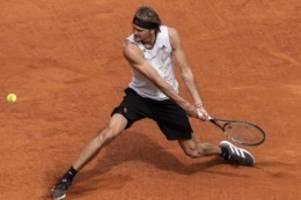ATP-Turnier: Auch Thiem geschlagen: Zverev im Masters-Finale von Madrid