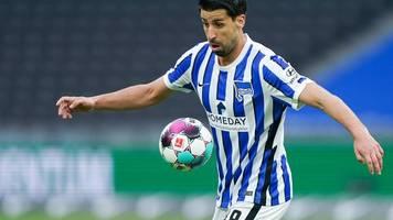 Bundesliga: Fragezeichen bei Hertha hinter Khedira vor Bielefeld-Spiel
