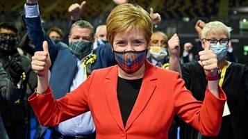 Wahlen in Schottland: Historischer Sieg für SNP von Nicola Sturgeon