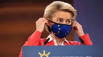 Coronavirus-News   Von der Leyen: Grünes Impfzertifikat kann wohl pünktlich starten