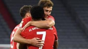 FC Bayern zum neunten Mal in Folge deutscher Meister
