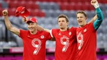Nach Meistertitel: Bayern siegen 6:0 gegen Gladbach