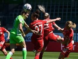 Wolfsburg-Comeback im Topspiel: FC Bayern vergibt die Meister-Entscheidung