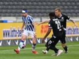 Hertha BSC begnügt sich mit einem 0:0 gegen Bielefeld