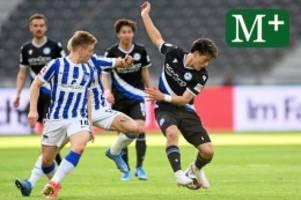 Hertha BSC: Hertha verpasst die Big Points