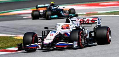 Formel 1 in Spanien: Mercedeschef Toto Wolff ärgert sich über Nikita Mazepin - »Der Kerl kostet uns die Position«