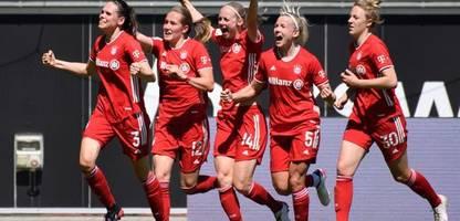 Fußball-Bundesliga der Frauen: FC Bayern München spielt remis beim VfL Wolfsburg