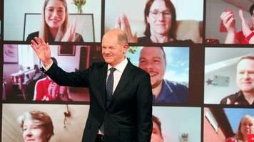Rennen ums Kanzleramt: SPD bestätigt Scholz mit 96,2 Prozent als Kanzlerkandidat