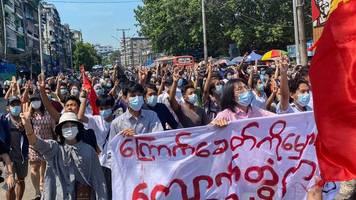 Druck auf Kritiker: Myanmars Militärjunta erklärt Opposition zu Terrorgruppe