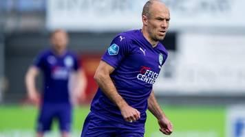 Arjen Robben: Ex-Star des FC Bayern mit Tränen nach Comeback