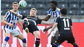 Bundesliga: Kein Sieger im Abstiegskrimi – Hertha und Bielefeld treten auf der Stelle