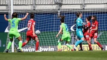 Remis in Wolfsburg: FC-Bayern-Frauen weiter auf Meisterschafts-Kurs