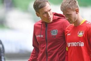 Saison-Aus für Leverkusener Fußball-Profi Sinkgraven