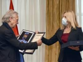 Peter Handke nimmt serbische Orden entgegen: In den Tiefen seiner Seele ist er ein Faschist