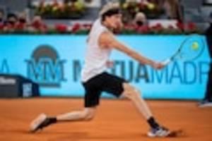 Deutscher Tennis-Star - Zverev gewinnt Madrid-Masters gegen Berrettini