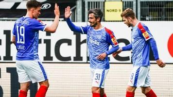 2. Liga: Kiel nach Sieg gegen Hannover auf Aufstiegskurs – HSV unter Druck