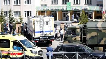 russland - nach angriff auf schule in kasan: 23 verletzte in kliniken