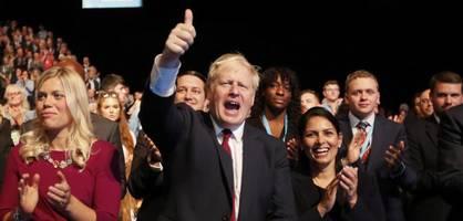 brexit-britannien, von boris johnson auf den kopf gestellt