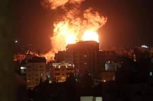 Mehr als 1600 Raketenabschüsse auf Israel