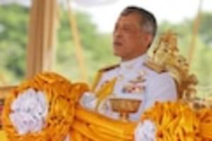 wegen atemproblemen - palast-insider: berüchtigter thai-könig rama x. soll mit atemproblemen im krankenhaus liegen