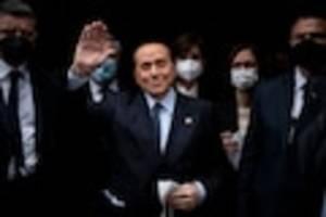 """sorge um italienischen ex-regierungschef - """"es geht ihm nicht sehr gut"""": berlusconi wegen corona-spätfolgen im krankenhaus"""