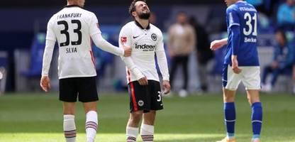 Fußball-Bundesliga: Niederlage bei Schalke 04 – Eintracht Frankfurt verspielt wohl die Champions League