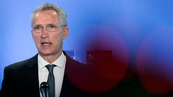 Außenpolitik: Stoltenberg: Gesprächsangebot und Druck im Verhältnis zu Russland