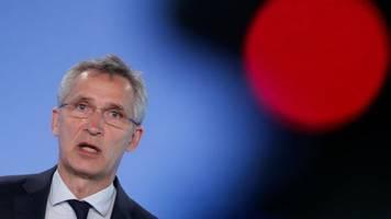Stoltenberg: Druck im Verhältnis zu Russland