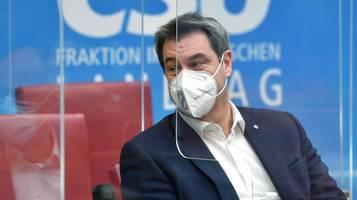 Söder lässt trotz Niederlage Wahlkampfplakate drucken